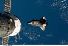 STS-119, Shuttle Docking with International Space Station
