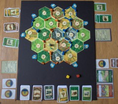 Custom Setters of Catan Board, Top View