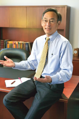 Secretary of Energy, Steven Chu